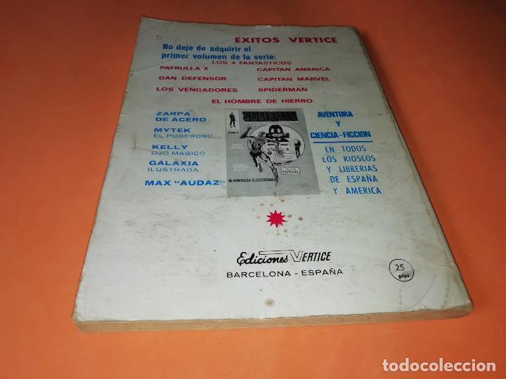 Cómics: GLADIADORES INVICTOS. SELECCIONES VERTICE. 59. VERTICE TACO. 1969. BUEN ESTADO. - Foto 2 - 155823950