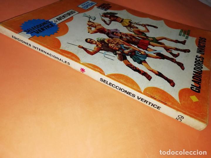 Cómics: GLADIADORES INVICTOS. SELECCIONES VERTICE. 59. VERTICE TACO. 1969. BUEN ESTADO. - Foto 3 - 155823950