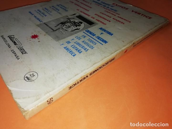 Cómics: GLADIADORES INVICTOS. SELECCIONES VERTICE. 59. VERTICE TACO. 1969. BUEN ESTADO. - Foto 4 - 155823950