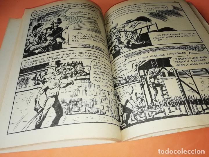 Cómics: GLADIADORES INVICTOS. SELECCIONES VERTICE. 59. VERTICE TACO. 1969. BUEN ESTADO. - Foto 6 - 155823950