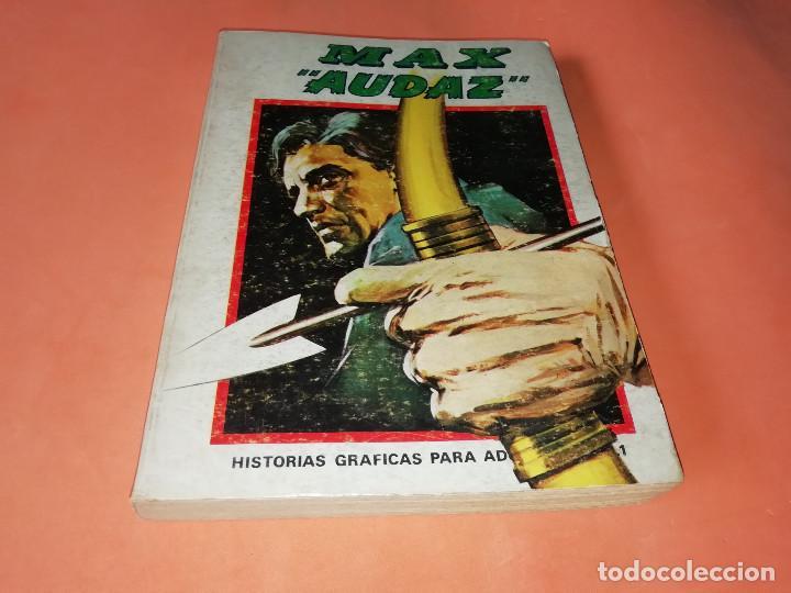 MAX AUDAZ. VOLUMEN 1. EDICION ESPECIAL. VERTICE. TACO, 1973. BUEN ESTADO. (Tebeos y Comics - Vértice - Otros)