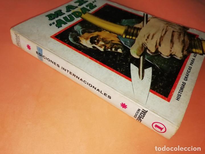 Cómics: MAX AUDAZ. VOLUMEN 1. EDICION ESPECIAL. VERTICE. TACO, 1973. BUEN ESTADO. - Foto 3 - 155825010