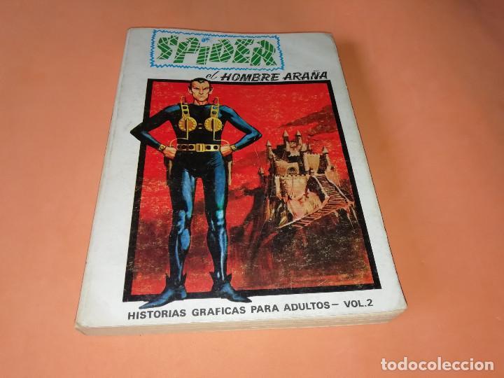 SPIDER. VOLUMEN 2. EDICION ESPECIAL. VERTICE. TACO. 1973. BUEN ESTADO. (Tebeos y Comics - Vértice - Otros)
