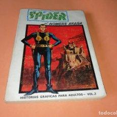 Cómics: SPIDER. VOLUMEN 2. EDICION ESPECIAL. VERTICE. TACO. 1973. BUEN ESTADO.. Lote 155825922