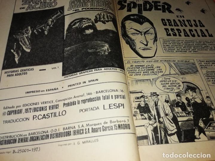 Cómics: SPIDER. VOLUMEN 2. EDICION ESPECIAL. VERTICE. TACO. 1973. BUEN ESTADO. - Foto 5 - 155825922