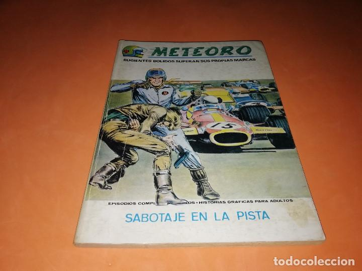 METEORO. SABOTAJE EN LA PISTA.Nº 4. VERTICE. TACO. BUEN ESTADO. 1972. (Tebeos y Comics - Vértice - Otros)