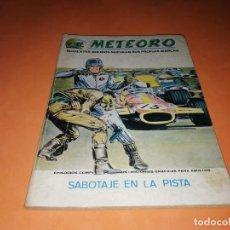Cómics: METEORO. SABOTAJE EN LA PISTA.Nº 4. VERTICE. TACO. BUEN ESTADO. 1972.. Lote 155843718