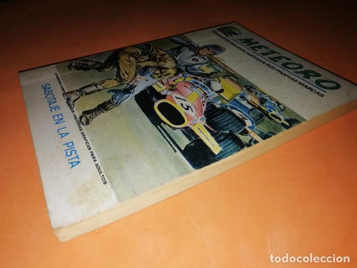 Cómics: METEORO. SABOTAJE EN LA PISTA.Nº 4. VERTICE. TACO. BUEN ESTADO. 1972. - Foto 3 - 155843718