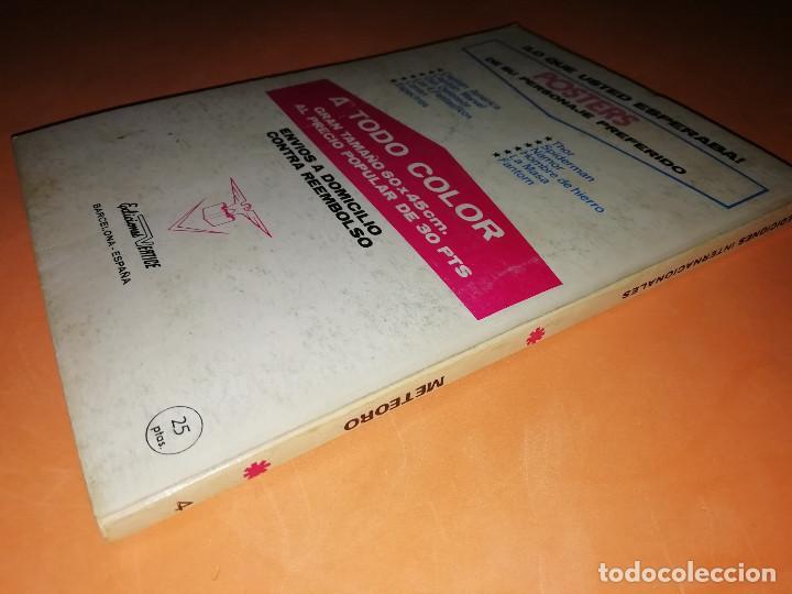Cómics: METEORO. SABOTAJE EN LA PISTA.Nº 4. VERTICE. TACO. BUEN ESTADO. 1972. - Foto 4 - 155843718