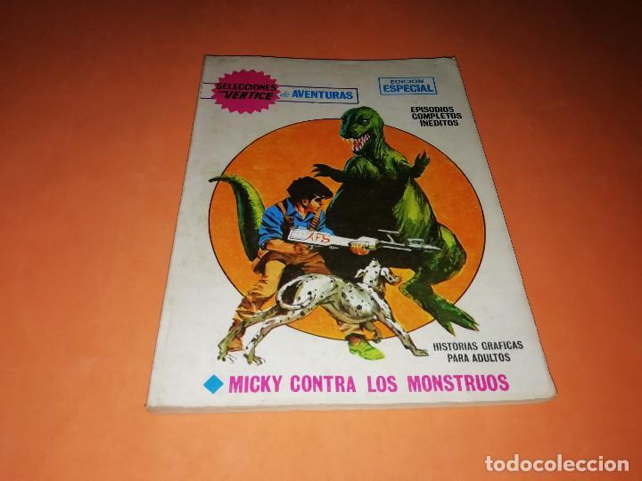 MICKY CONTRA LOS MONSTRUOS. SELECCIONES VERTICE. Nº 71. VERTICE. TACO. BUEN ESTADO. 1970. (Tebeos y Comics - Vértice - Otros)