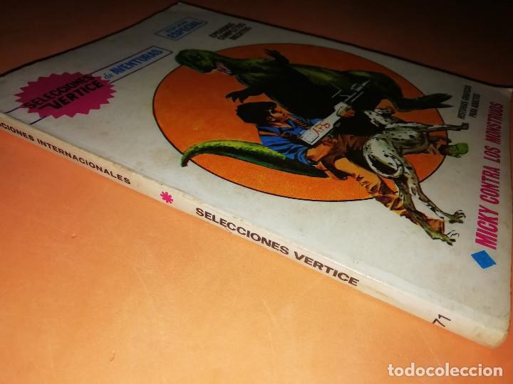 Cómics: MICKY CONTRA LOS MONSTRUOS. SELECCIONES VERTICE. Nº 71. VERTICE. TACO. BUEN ESTADO. 1970. - Foto 3 - 155845322