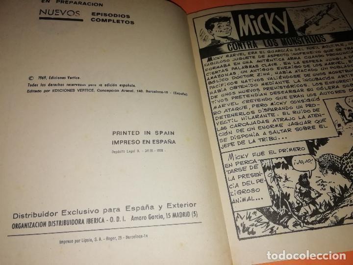Cómics: MICKY CONTRA LOS MONSTRUOS. SELECCIONES VERTICE. Nº 71. VERTICE. TACO. BUEN ESTADO. 1970. - Foto 5 - 155845322