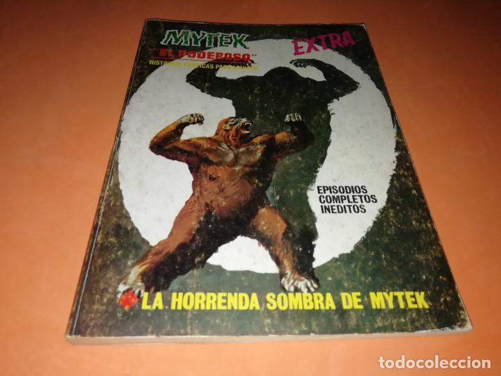 MYTEK EL PODEROSO. Nº 12. LA HORRENDA SOMBRA DE MYTEX. VERTICE. TACO. BUEN ESTADO. 1970. (Tebeos y Comics - Vértice - Otros)