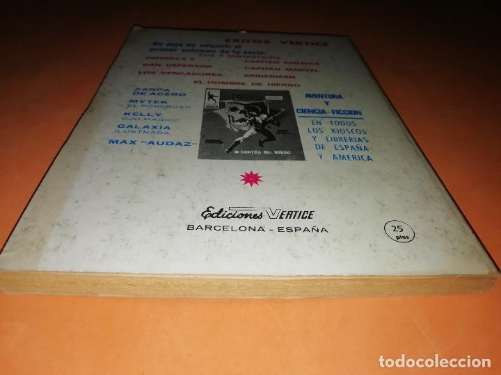 Cómics: MYTEK EL PODEROSO. Nº 12. LA HORRENDA SOMBRA DE MYTEX. VERTICE. TACO. BUEN ESTADO. 1970. - Foto 2 - 155847154