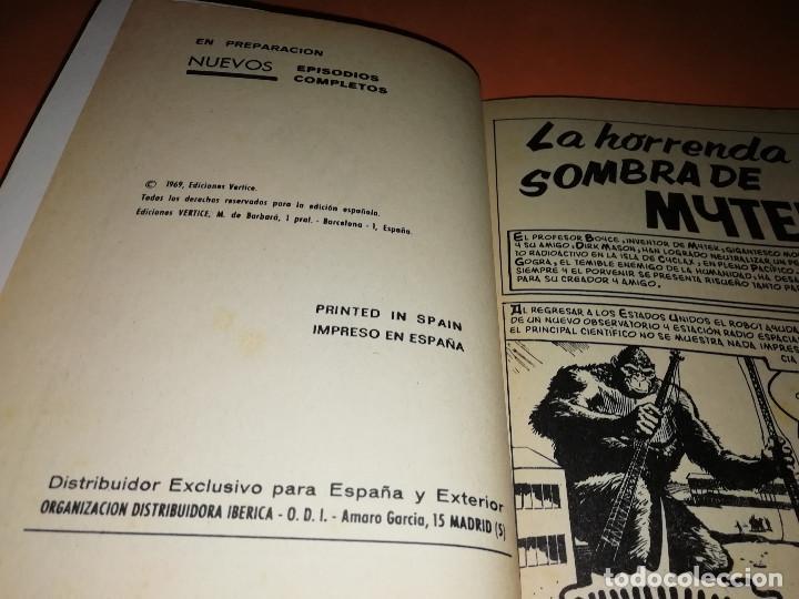 Cómics: MYTEK EL PODEROSO. Nº 12. LA HORRENDA SOMBRA DE MYTEX. VERTICE. TACO. BUEN ESTADO. 1970. - Foto 5 - 155847154