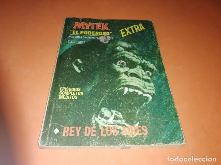 MYTEK EL PODEROSO. Nº 7.REY DE LOS AIRES. VERTICE. TACO. BUEN ESTADO. 1970. (Tebeos y Comics - Vértice - Otros)