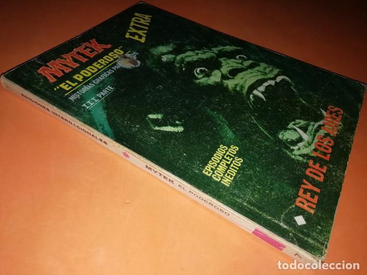 Cómics: MYTEK EL PODEROSO. Nº 7.REY DE LOS AIRES. VERTICE. TACO. BUEN ESTADO. 1970. - Foto 3 - 155847906