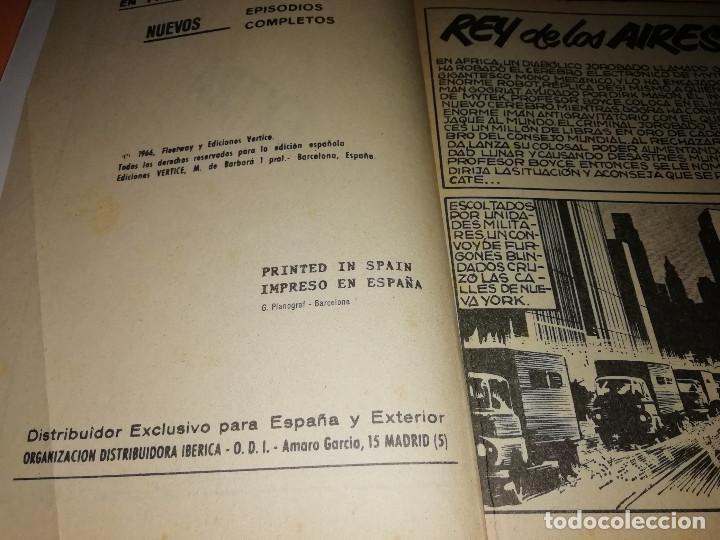 Cómics: MYTEK EL PODEROSO. Nº 7.REY DE LOS AIRES. VERTICE. TACO. BUEN ESTADO. 1970. - Foto 6 - 155847906