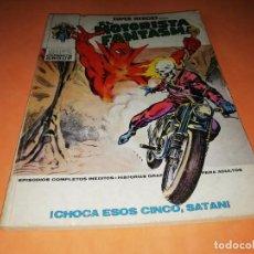 Cómics: EL MOTORISTA FANTASMA. CHOCA ESOS CINCO SATAN. Nº4. VERTICE. TACO. 1974. BUEN ESTADO. Lote 155895426