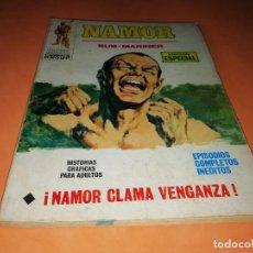 Cómics: NAMOR. NAMOR CLAMA VENGANZA. Nº 11. VERTICE TACO. 1971. BUEN ESTADO. Lote 155895870