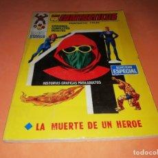 Cómics: LOS 4 FANTASTICOS. LA MUERTE DE UN HEROE. Nº 17. VERTICE TACO. 1970. BUEN ESTADO.. Lote 155945758