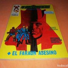 Cómics: LOS 4 FANTASTICOS. EL FARAON ASESINO Nº 10. VERTICE TACO. 1970. BUEN ESTADO.. Lote 155945990