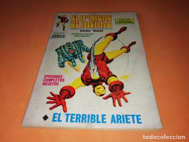 EL HOMBRE DE HIERRO. EL TERRIBLE ARIETE. Nº 17 VERTICE TACO. 1970. BUEN ESTADO. (Tebeos y Comics - Vértice - Hombre de Hierro)
