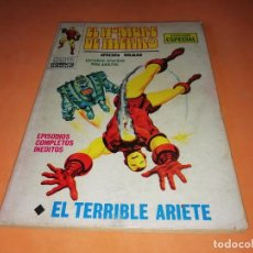 Cómics: EL HOMBRE DE HIERRO. EL TERRIBLE ARIETE. Nº 17 VERTICE TACO. 1970. BUEN ESTADO.. Lote 155950882