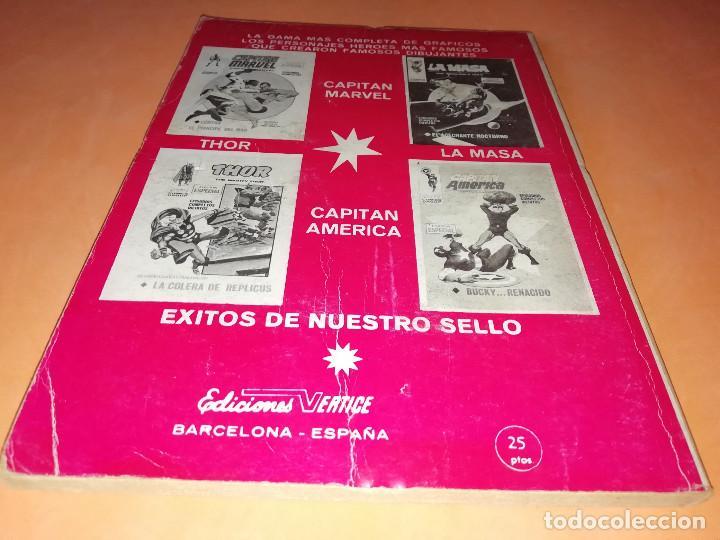 Cómics: EL HOMBRE DE HIERRO. EL TERRIBLE ARIETE. Nº 17 VERTICE TACO. 1970. BUEN ESTADO. - Foto 2 - 155950882