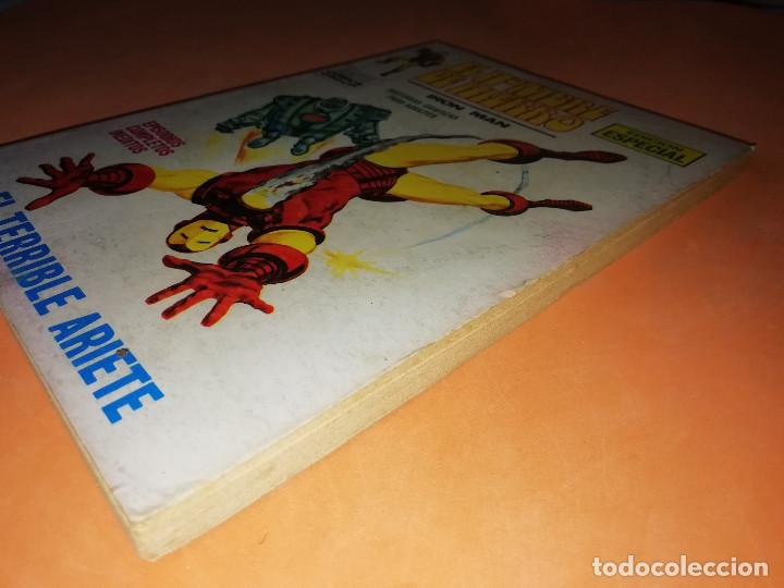 Cómics: EL HOMBRE DE HIERRO. EL TERRIBLE ARIETE. Nº 17 VERTICE TACO. 1970. BUEN ESTADO. - Foto 3 - 155950882