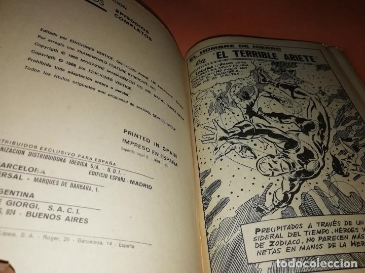 Cómics: EL HOMBRE DE HIERRO. EL TERRIBLE ARIETE. Nº 17 VERTICE TACO. 1970. BUEN ESTADO. - Foto 5 - 155950882