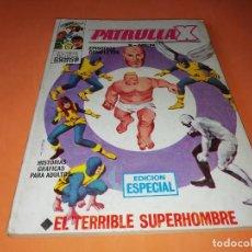 Cómics: LA PATRULLA X .EL TERRIBLE SUPERHOMBRE. Nº 3 VERTICE TACO. 1970. BUEN ESTADO.. Lote 156043982