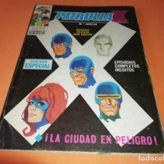 Cómics: LA PATRULLA X .LA CIUDAD EN PELIGRO. Nº 10 VERTICE TACO. 1970. BUEN ESTADO.. Lote 156046910