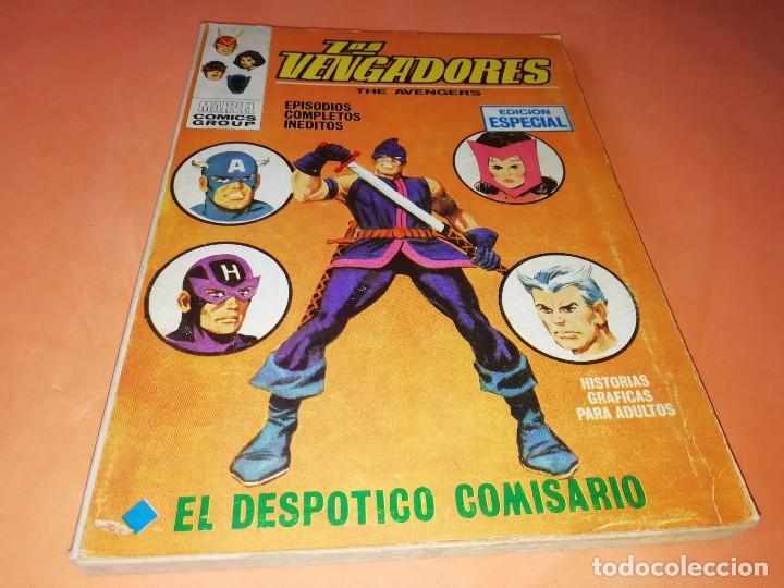 LOS VENGADORES. EL DESPOTICO COMISARIO. Nº 8 VERTICE TACO. 1970. BUEN ESTADO. (Tebeos y Comics - Vértice - Vengadores)
