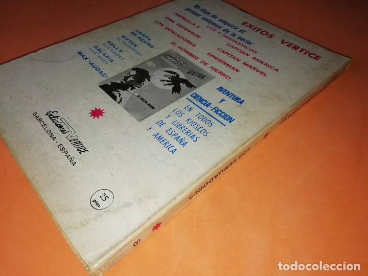 Cómics: LOS VENGADORES. EL DESPOTICO COMISARIO. Nº 8 VERTICE TACO. 1970. BUEN ESTADO. - Foto 2 - 156051770