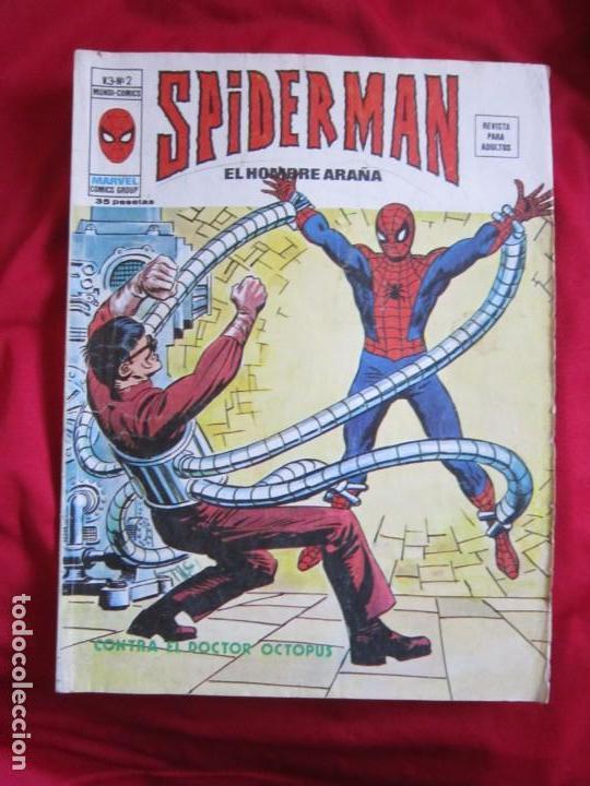 Cómics: SPIDERMAN VOL. 3 COLECCION COMPLETA 76 COMICS VERTICE AÑOS 70 BASTANTE BUENOS - Foto 2 - 156132254