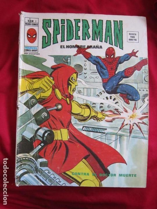 Cómics: SPIDERMAN VOL. 3 COLECCION COMPLETA 76 COMICS VERTICE AÑOS 70 BASTANTE BUENOS - Foto 3 - 156132254