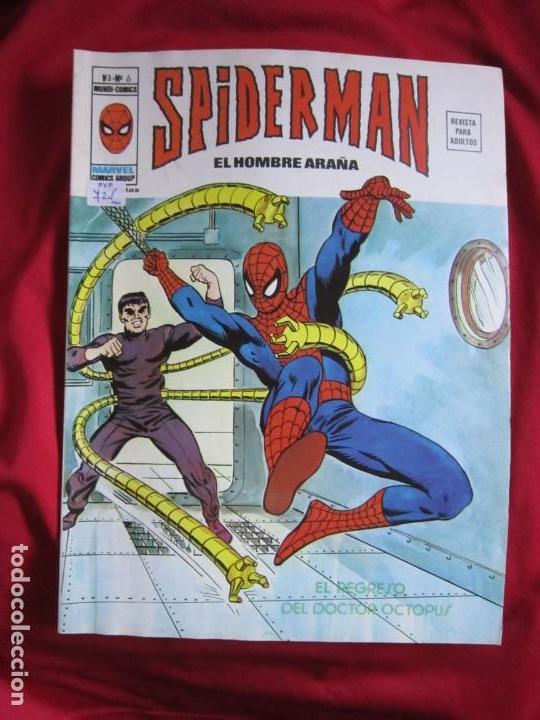 Cómics: SPIDERMAN VOL. 3 COLECCION COMPLETA 76 COMICS VERTICE AÑOS 70 BASTANTE BUENOS - Foto 6 - 156132254