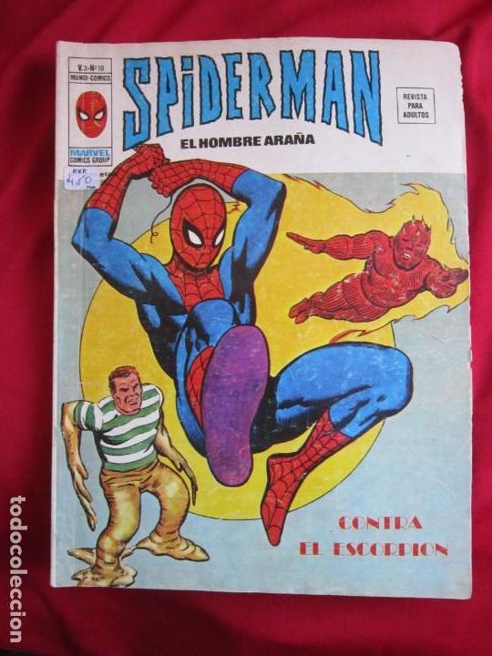 Cómics: SPIDERMAN VOL. 3 COLECCION COMPLETA 76 COMICS VERTICE AÑOS 70 BASTANTE BUENOS - Foto 10 - 156132254