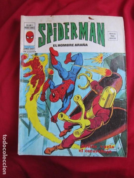 Cómics: SPIDERMAN VOL. 3 COLECCION COMPLETA 76 COMICS VERTICE AÑOS 70 BASTANTE BUENOS - Foto 11 - 156132254