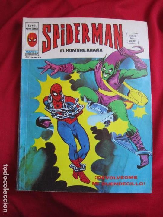 Cómics: SPIDERMAN VOL. 3 COLECCION COMPLETA 76 COMICS VERTICE AÑOS 70 BASTANTE BUENOS - Foto 14 - 156132254