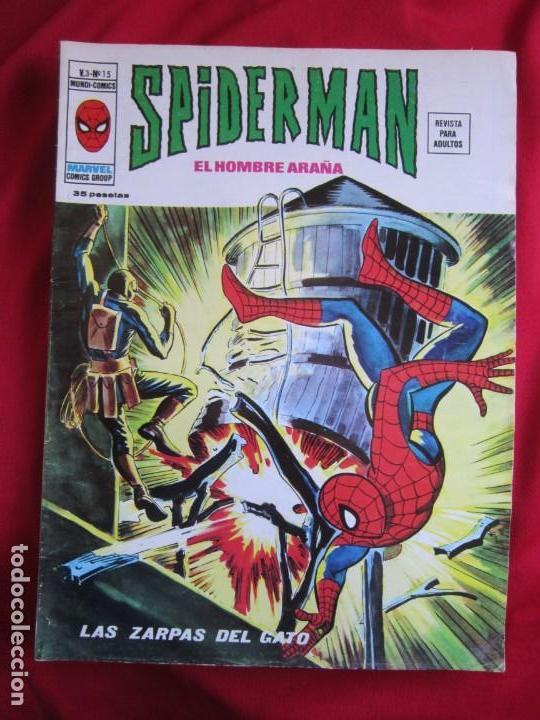 Cómics: SPIDERMAN VOL. 3 COLECCION COMPLETA 76 COMICS VERTICE AÑOS 70 BASTANTE BUENOS - Foto 15 - 156132254