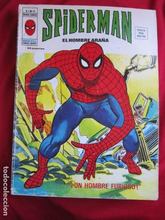 Cómics: SPIDERMAN VOL. 3 COLECCION COMPLETA 76 COMICS VERTICE AÑOS 70 BASTANTE BUENOS - Foto 16 - 156132254