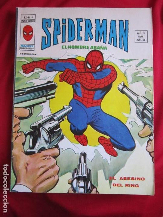 Cómics: SPIDERMAN VOL. 3 COLECCION COMPLETA 76 COMICS VERTICE AÑOS 70 BASTANTE BUENOS - Foto 19 - 156132254
