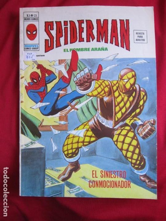 Cómics: SPIDERMAN VOL. 3 COLECCION COMPLETA 76 COMICS VERTICE AÑOS 70 BASTANTE BUENOS - Foto 21 - 156132254