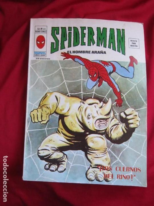 Cómics: SPIDERMAN VOL. 3 COLECCION COMPLETA 76 COMICS VERTICE AÑOS 70 BASTANTE BUENOS - Foto 22 - 156132254