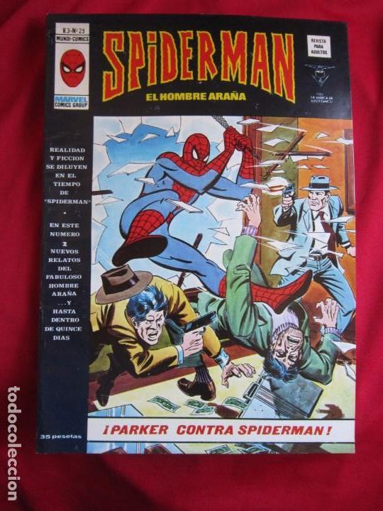 Cómics: SPIDERMAN VOL. 3 COLECCION COMPLETA 76 COMICS VERTICE AÑOS 70 BASTANTE BUENOS - Foto 26 - 156132254