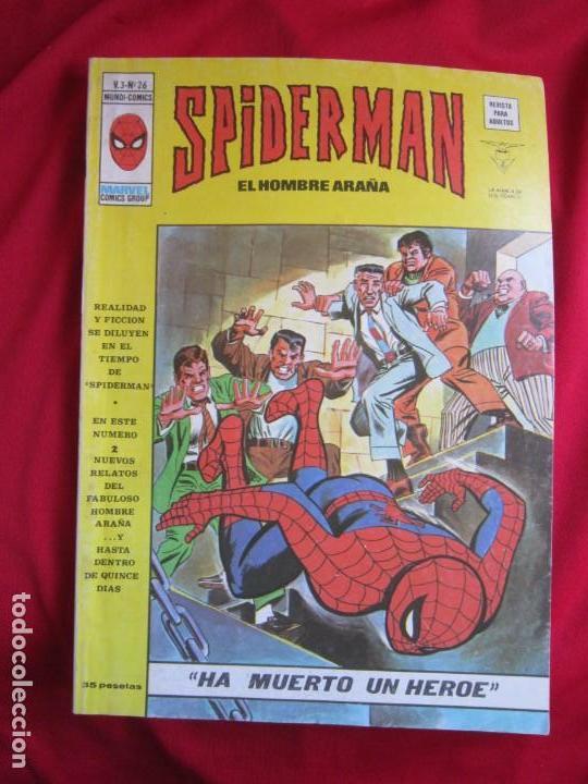 Cómics: SPIDERMAN VOL. 3 COLECCION COMPLETA 76 COMICS VERTICE AÑOS 70 BASTANTE BUENOS - Foto 27 - 156132254