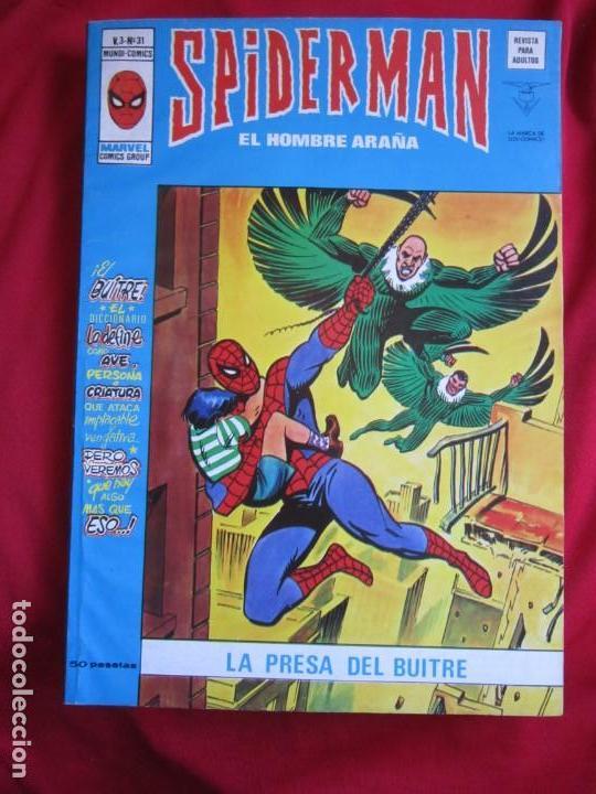 Cómics: SPIDERMAN VOL. 3 COLECCION COMPLETA 76 COMICS VERTICE AÑOS 70 BASTANTE BUENOS - Foto 28 - 156132254