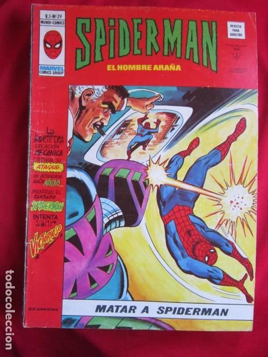 Cómics: SPIDERMAN VOL. 3 COLECCION COMPLETA 76 COMICS VERTICE AÑOS 70 BASTANTE BUENOS - Foto 30 - 156132254